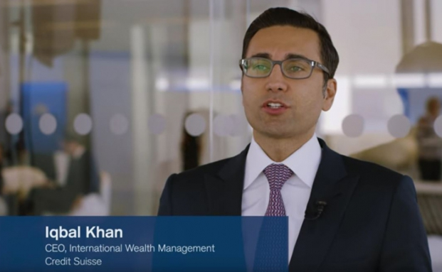 Iqbal Khan ist Chef des internationalen Wealth Managements der Credit Suisse