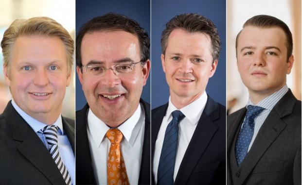 Die Autoren der drei meistgelesenen Fachbeiträge (v.l.): Heiko Löschen, Philipp Hendel und Thomas Elster sowie Paul Skiba