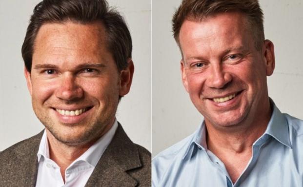 Zwei der vier Mitgründer des Fintechs Investify: Sebastian Hasenack (l.) und Christian Kratz