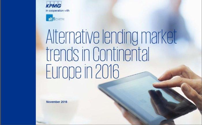 """Die KPMG-Studie """"Alternative lending market trends in Continental Europe"""""""
