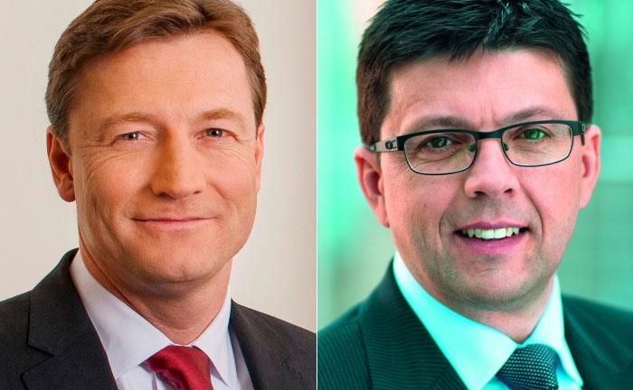 Michael Bentlage (l.) und Stefan Kreuzkamp von Hauck & Aufhäuser