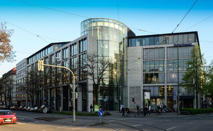 1970 als erste Niederlassung außerhalb der USA eröffnet: Die Filiale von State Street in München |© Laura Hoffmann - State Street Bank München