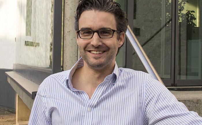 Oliver Vins, Gründer und Vorstand von Vaamo