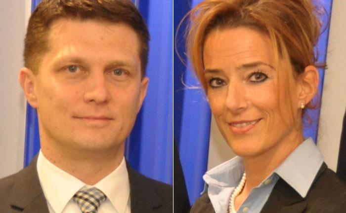 Stefan Oldemeier (l.) und Melanie Winkel