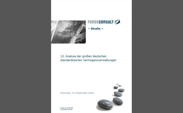 Die 13. Fondsconsult Studie zur standardisierten Vermögensverwaltung