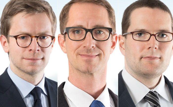 Patrick Gander (l.), Urs Schubiger (M.) und Egon Rütsche