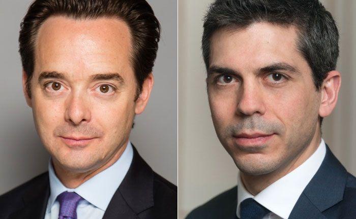 David Older (l.) und Christophe Peronin