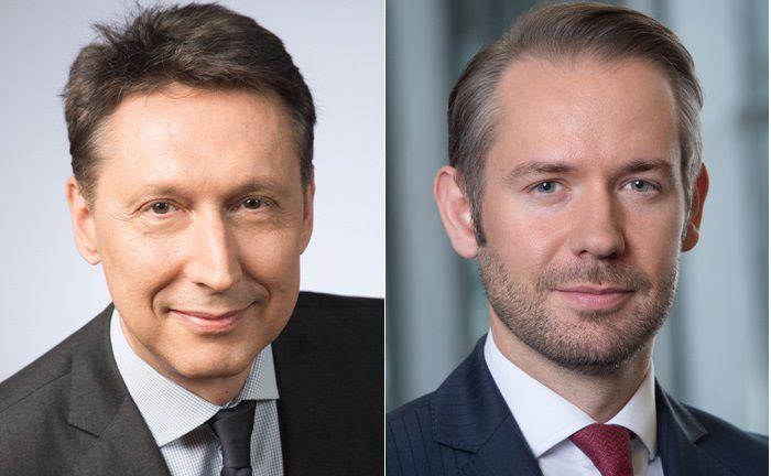 Chef Nicolas Chaput (l.) übernimmt den Posten des Investmentchefs bei Oddo Meriten AM, Matthias Mohr den Vertrieb an institutionelle Anleger