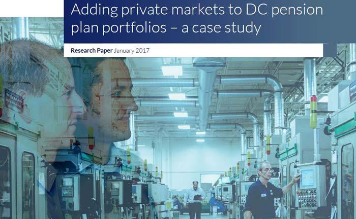 """Die Studie """"Adding private markets to DC pension plan portfolios"""" der Partners Group untersucht den Einfluss von Privatmarktanlagen auf die Wertentwicklung von Portfolios beitragsorientierter Pensionspläne"""