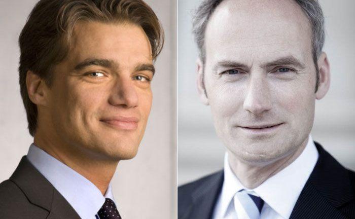 Steht künftig an der Spitze des Immobilien-Investmentmanagers Hamburg Trust: Georg Reul (l.) und sein Vorgänger Dirk Hasselbring