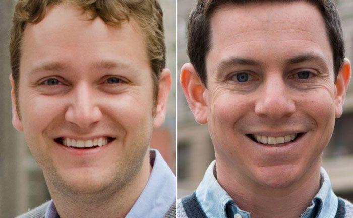 Die beiden Gründer und Geschäftsführer von Betterment: Jon Stein (l.) und Eli Broverman
