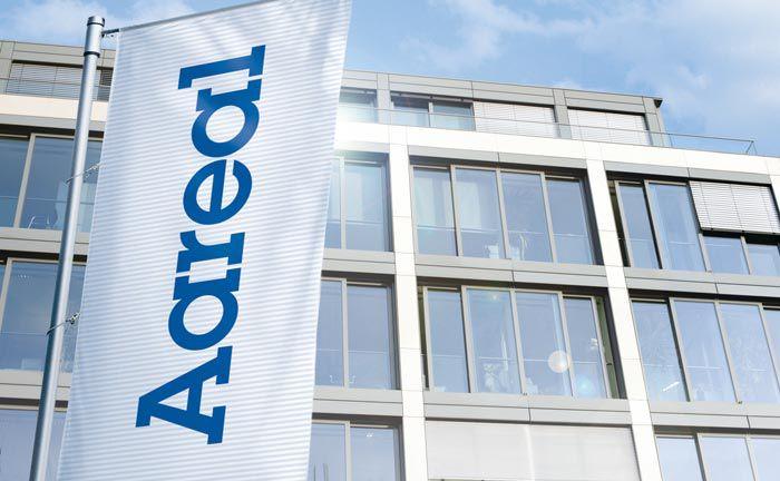Hauptsitz der Aareal-Bank in Wiesbaden: Der ehemalige Vorstandsvorsitzende Wolf Schumacher wurde für sein vorzeitiges Ausscheiden fürstlich entlohnt
