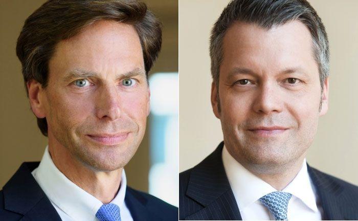 Der neue Vorstand Heiner Arnoldi (l.) und Marco Hausschildt, künftig Generalbevollmächtigter von Sal. Oppenheim