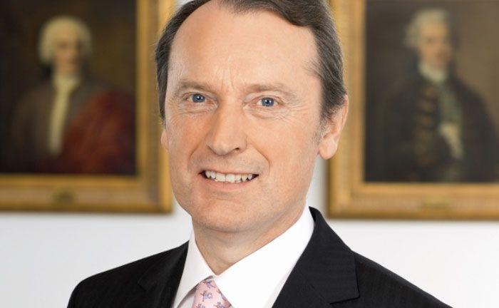 Will durch die Reform die Mittel des Einlagensicherungsfonds auf den Schutz privater Kunden fokussieren: Bankenverbands-Präsident Hans-Walter Peters