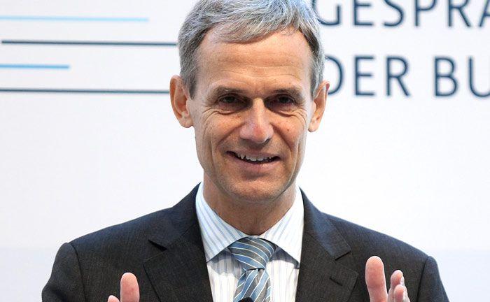 Der Bundesverband deutscher Banken, im Bild dessen Geschäftsführer Michael Kemmer, plant eine Reform ihres Einlagensicherungsfonds