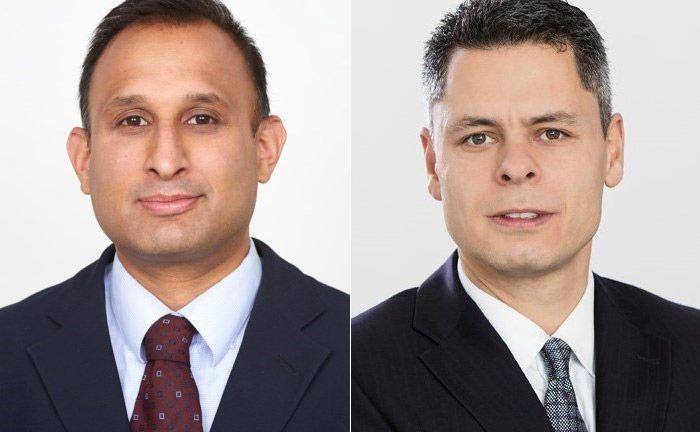 Die beiden Neuzugänge bei der Deutschen Oppenheim Family Office: Sudip Roy (l.) und Dominik Fischer