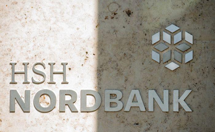 Außenfassade der HSH Nordbank in Kiel: das Bieterverfahren für die Landesbank hat die erste Hürde genommen