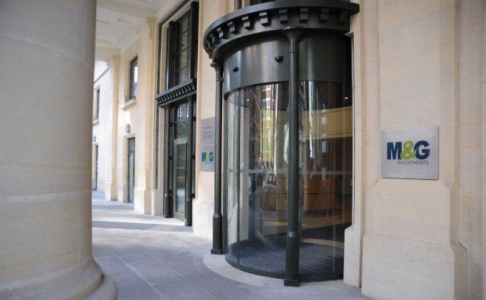 Eingang zum M&G-Standort in London