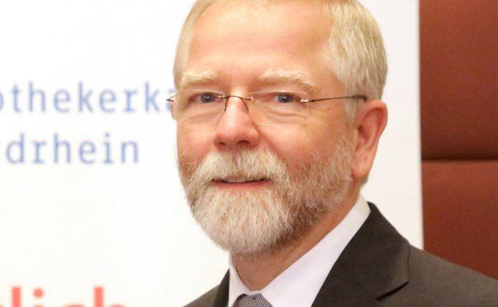 Steht in der Kritik:  Nordrheins Kammerpräsident Lutz Engelen|© AKNR