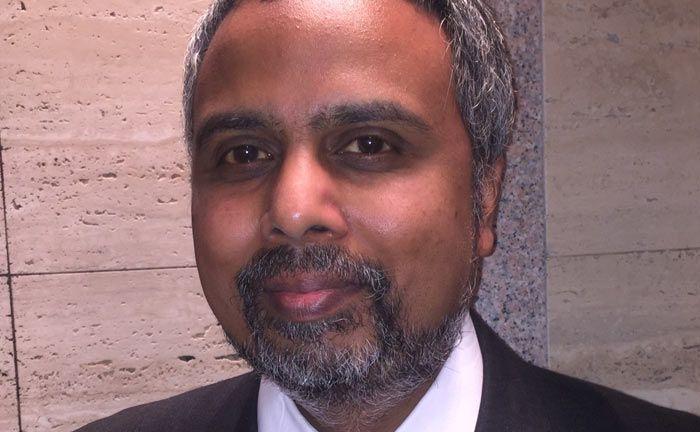 Nizam Hami, Chef des Vertrieb von Wisdom Tree Europe