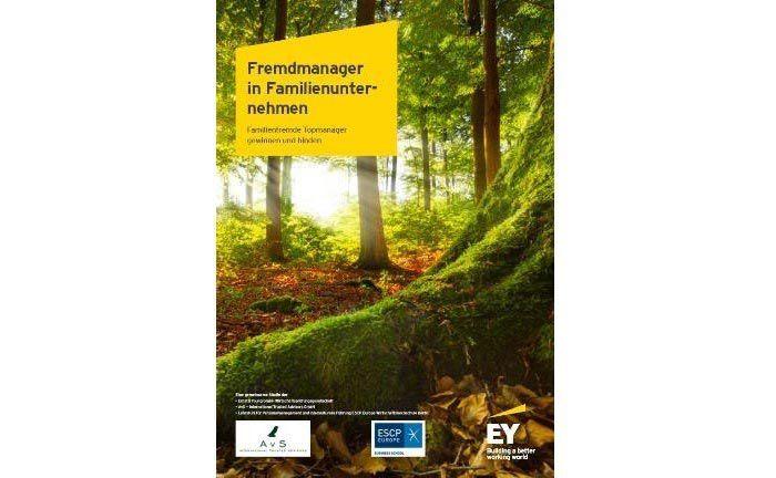 Erschien Ende 2016: Die Studie zu Fremdmanagern in Familienunternehmen von EY, ESCP Europa und AVS