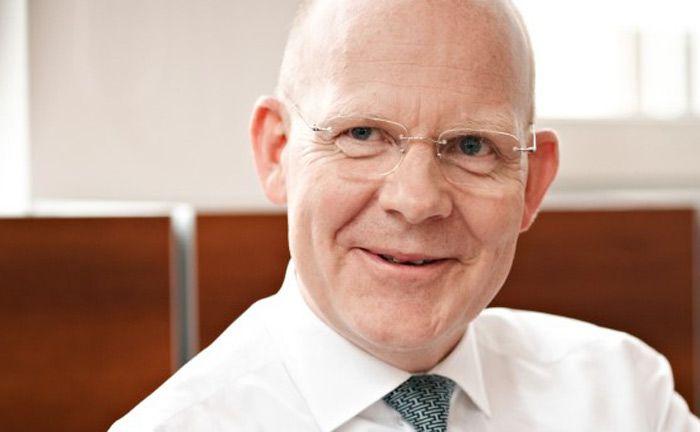 Legt sein Amt als Vorstandsvorsitzender der Bethmann Bank im Sommer 2017 nieder: Horst Schmidt