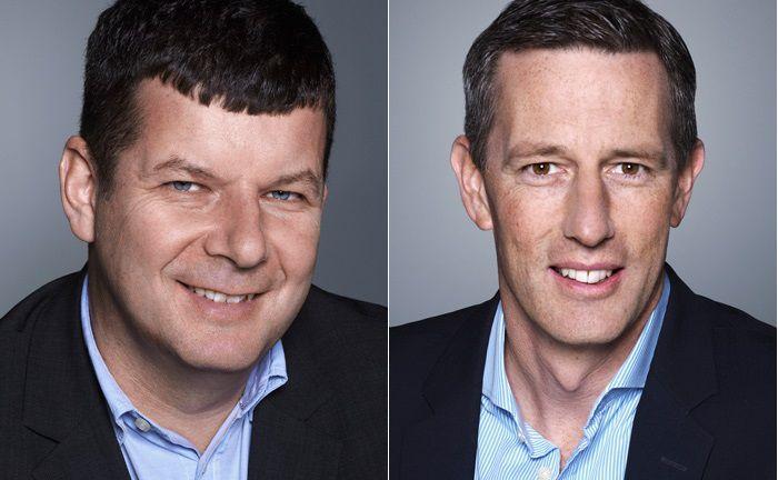 Haben die Plattform WMD Capital entwickelt: Jürgen Gerleit (l.) und Andreas Hauenstein