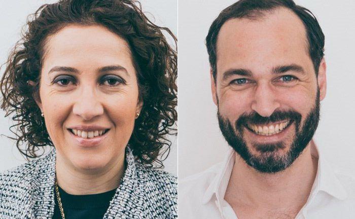 Die beiden Neuzugänge beim digitalen Berliner Vermögensverwalter Liqid: Andrea Fernandez (l.) und Christian Neuhaus
