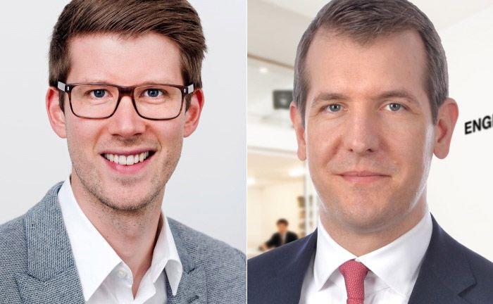 Wollen gemeinsam Marktführer im Bereich Immobilien-Crowdinvesting werden: Christopher Grätz (l.), Geschäftsführer und Mitgründer von Kapilendo und Robin Frenzel, Vorstand bei Engel & Völkers Capital