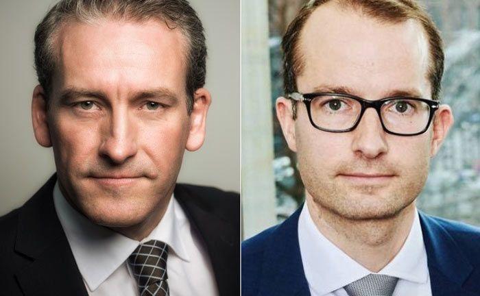 Michael Olfen (l.) und Fabian Meinecke von der Rechtanwaltskanzlei Oberwetter und Olfen