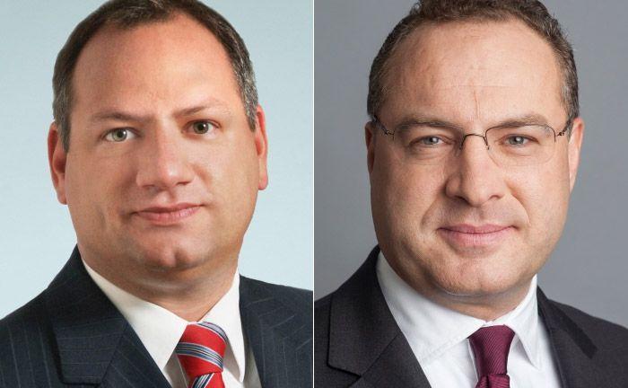 Alexander Etterer (l.) Partner bei Rödl & Partner und Leiter des Teams Wealth, Risk & Compliance, das die Berichte erstellt hat und Michael Schnabl, Leiter Institutionelles Geschäft bei DJE Kapital