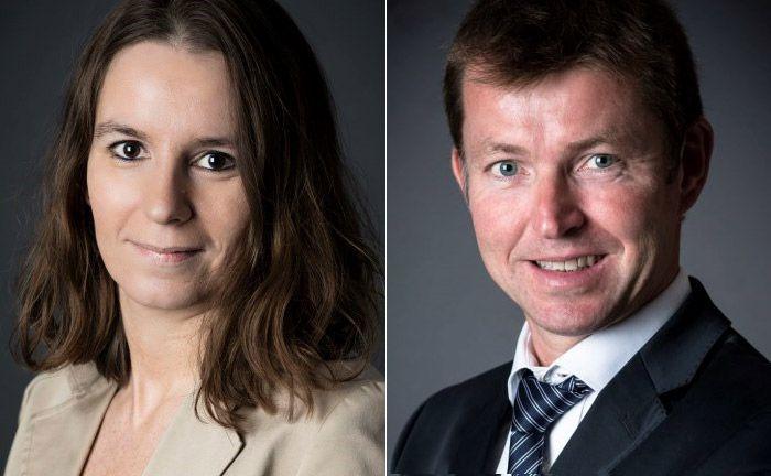 Das Portfoliomanagement des CPR Focus Inflation: Valerie Quesada (l.) und Christophe Dehondt