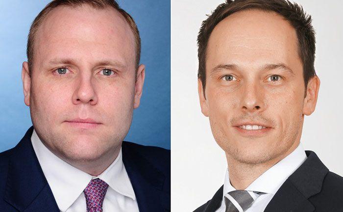 Sind beide für die Südwestbank tätig: Alexander Späth (l.) in Stuttgart und Alexander Schäfer in Heilbronn