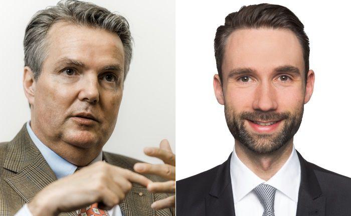 Christoph Weber, Geschäftsführer des Family Offices WSH (l.), und Alexander Koeberle-Schmid von der Wirtschaftsprüfungsgesellschaft KPMG