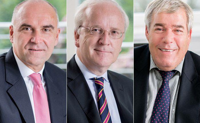 Das Führungsgremium der HPM besteht künftig aus drei Mitgliedern: Jörg Kamniski (l.), Christoph Michaelis (M.) und Wolfgang von Malottky|© Julia Löwe Fine Art Photography