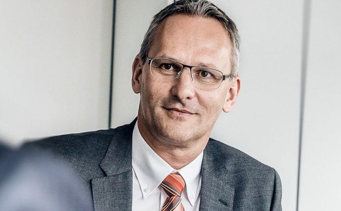 Leitet neben seiner Vorstandsfunktion auch die Stuttgarter Niederlassung der SAB: Andreas Falger