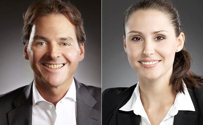 Ralf Tasak und Meike Kampmann von der Beratungsfirma Consileon
