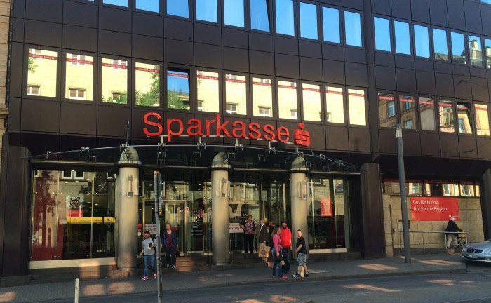 Filiale der Sparkasse Mainz