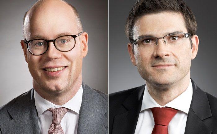 Karsten Junge (l.) und Alexander Wolf von der Strategieberatung Consileon