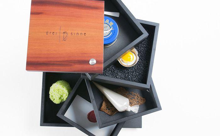 Der Sinnesturm von Sternekoch Cornelius Speinle soll den Gästen das Essen auf multisensorische Art und Weise präsentieren