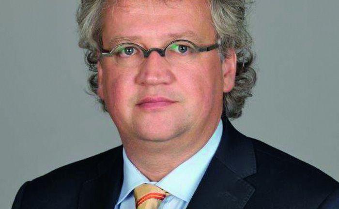 Ist Leiter internationale Geschäftsentwicklung und Vertrieb bei Van Eck Investments: Uwe Eberle