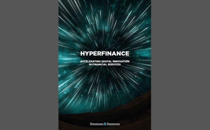 Screenshot der Hyperfinance-Studie der Kanzlei Simmons & Simmons