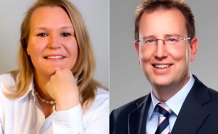Die beiden Geschäftsführer Martina Daubenthaler (l.) und Alexander Berger