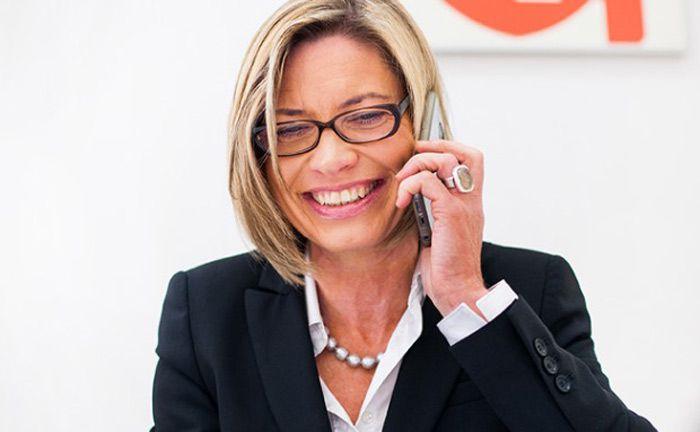 Ist Gründerin und Geschäftsführerin von Invest in Visions: Edda Schröder