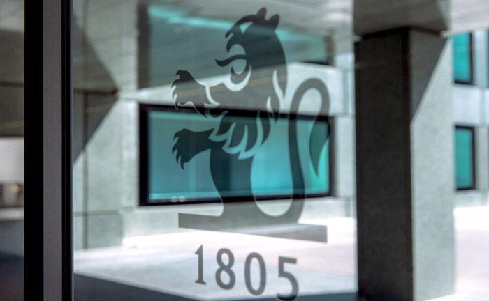 Das Logo von Pictet & Cie in Genf: Künftig wohl auch in Stuttgart zu finden