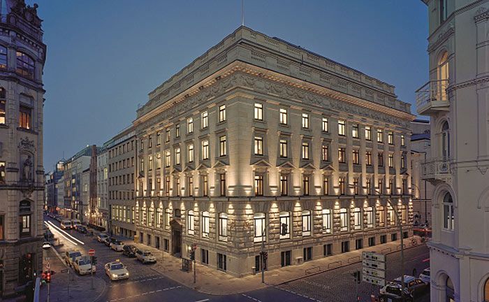 Zentrale der Hamburger Privatbank M.M. Warburg