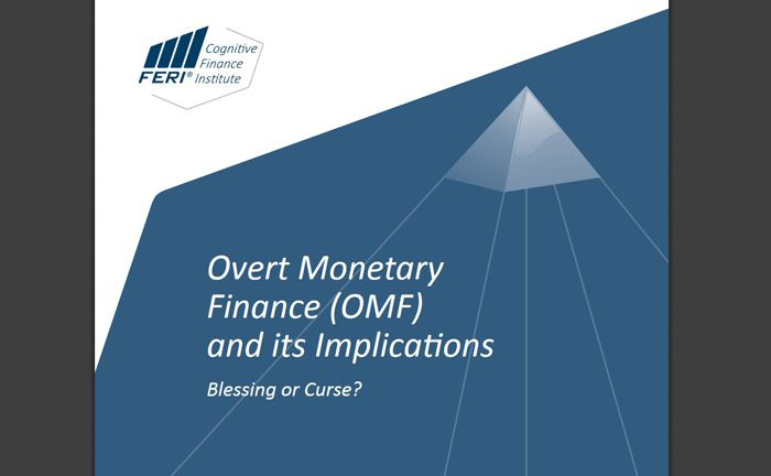 "Die Studie ""Overt Monetary Finance (OMF) and its Implications - Blessing or Curse?"" beschäftigt sich mit der OMF-Politik"