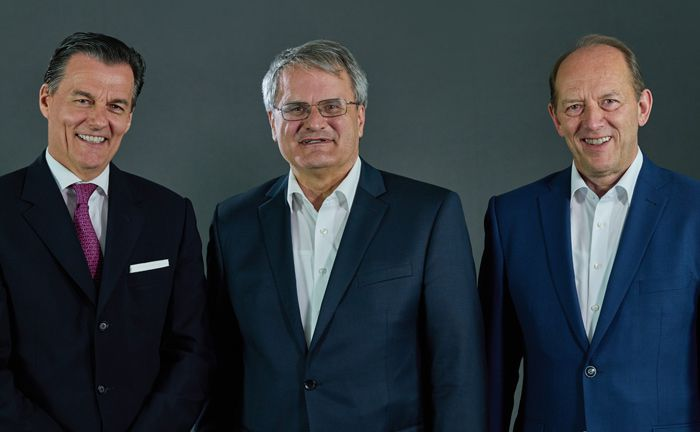 Bilden den Beirat des Robo Advisors Ginmon (v.l.): Norbert Kistermann, Wolfgang König und Peter Haueisen