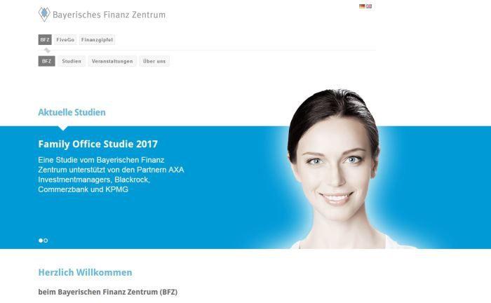Nimmt die Investitionen von Family Offices im Rahmen der Niedrigszinsphase unter die Lupe: Das Bayerische Finanz Zentrum