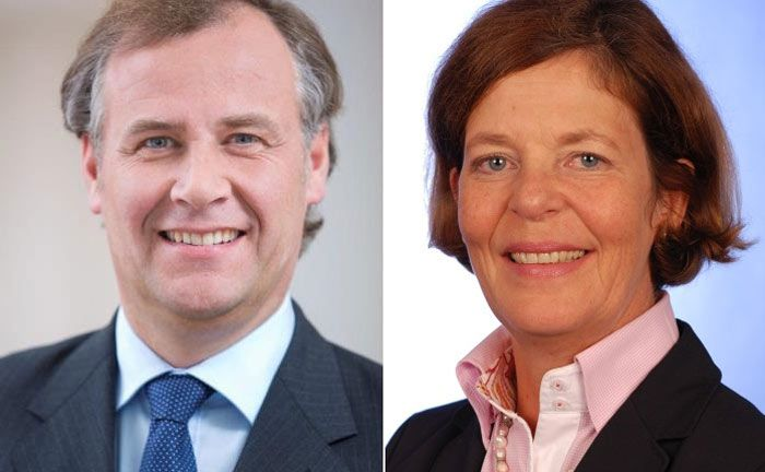 Leiten neuerdings die Wealth-Management-Regionen Nordwest und West der Deutschen Bank: Bernd-Christian Balz und Karoline Freifrau von Richthofen
